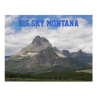 大きい空のモンタナ旅行写真 ポストカード