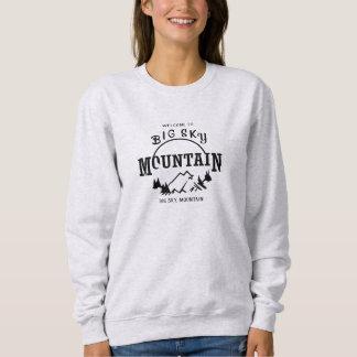 大きい空山 スウェットシャツ
