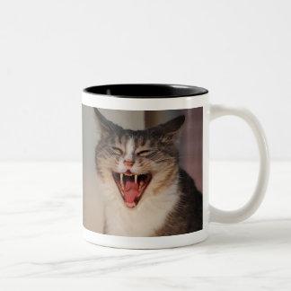 大きい笑い ツートーンマグカップ