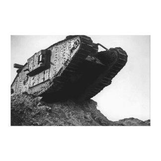 大きい第1次世界大戦タンクMk IVメスF4浮気者II キャンバスプリント