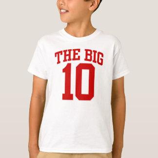大きい第10誕生日のTシャツ Tシャツ
