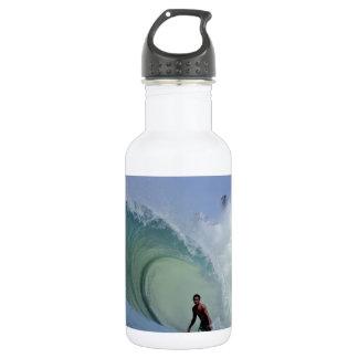 大きい管の乗車の楽園のサーフィンの波 ウォーターボトル