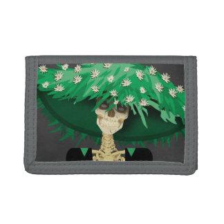 大きい緑の花の帽子の骨組