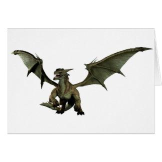大きい緑ドラゴン カード