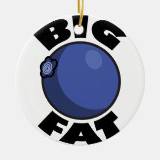 大きい脂肪質のブルーベリー媒体Schwag セラミックオーナメント