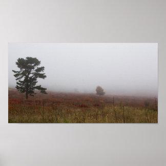 大きい草原、Shenandoahの国立公園、ヴァージニア ポスター