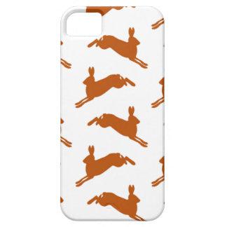 大きい跳躍のノウサギの子鹿ブラウン iPhone SE/5/5s ケース