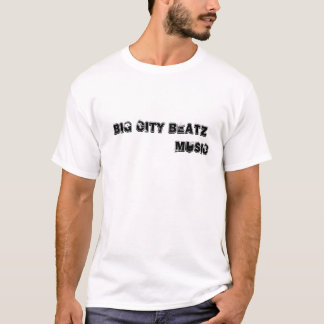大きい都市BEATZ音楽Tシャツ Tシャツ