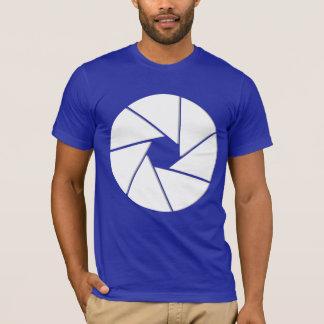 大きい開き- Tシャツ