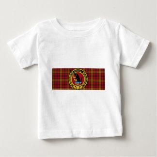 大きい頂上と大きいRourkeの一族のタータンチェック ベビーTシャツ