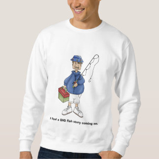 大きい魚のTシャツ スウェットシャツ