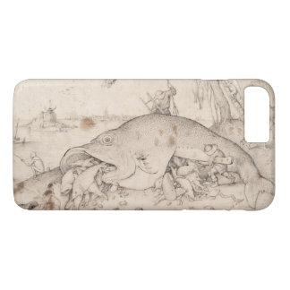 大きい魚はPieter Bruegelによって小さい魚を食べます iPhone 8 Plus/7 Plusケース