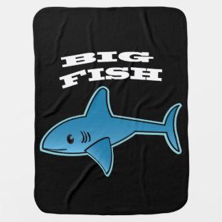 大きい魚-ベビーブランケット ベビー ブランケット