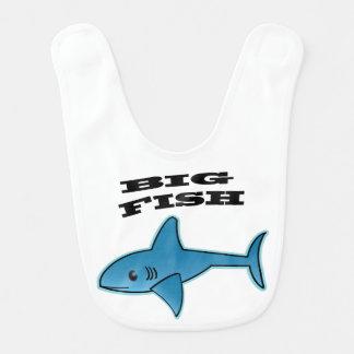大きい魚-ベビー用ビブ ベビービブ