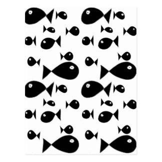 大きい魚 ポストカード