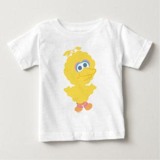 大きい鳥のベビーの体 ベビーTシャツ
