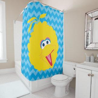 大きい鳥の顔 シャワーカーテン