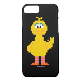 大きい鳥ピクセル芸術 iPhone 8/7ケース