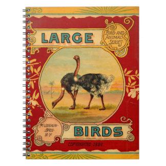 大きい鳥 ノートブック