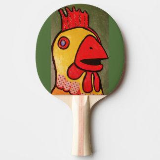 大きい鶏が付いている卓球ラケット 卓球ラケット