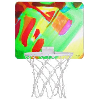 大きい黄色 ミニバスケットボールゴール