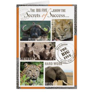 大きい5成功 カード
