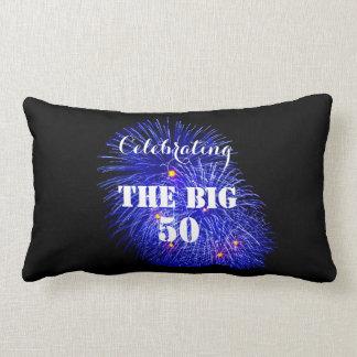 大きい50を祝います- ランバークッション