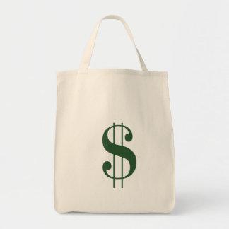 (大きい$のお金のバッグの)食料雑貨のトート トートバッグ