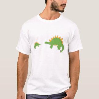 大きい「n」の小さいステゴサウルスの服装 tシャツ