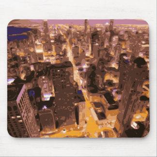 大きいAppleの高く、見事な建物 マウスパッド