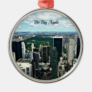 大きいApple、ニューヨークシティ メタルオーナメント