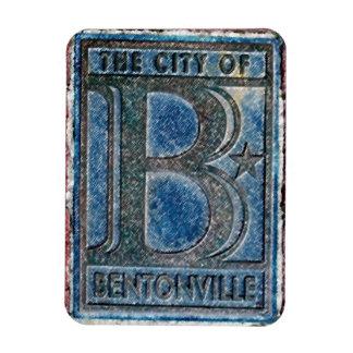 大きいB - entonville、アーカンソー マグネット