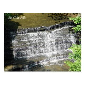 大きいClifty滝 ポストカード