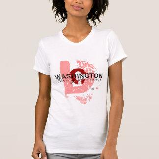 大きいD (ピンク) Tシャツ