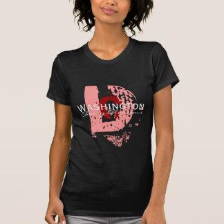 大きいD (ピンクDk) Tシャツ