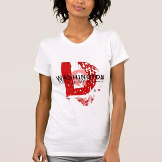 大きいD (赤い) Tシャツ