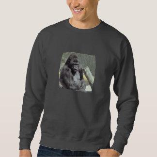 大きいGunnsのゴリラのスエットシャツ スウェットシャツ