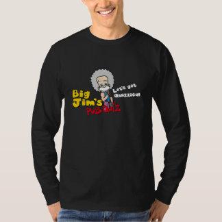 大きいjimsのパブのクイズはquizzical_2を得るために割り当てます tシャツ