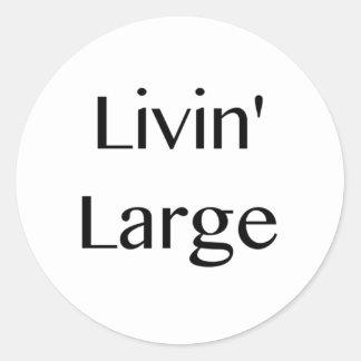 大きいLivin ラウンドシール
