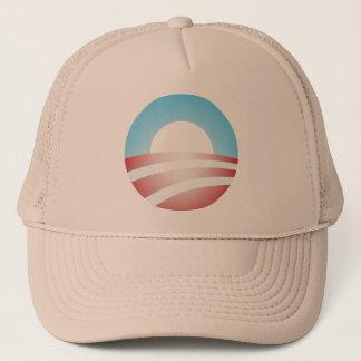 大きいOバラック・オバマのロゴ キャップ