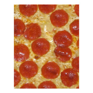 大きいpepperoniピザ レターヘッド