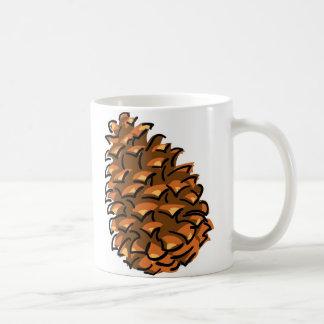 大きいPinecone コーヒーマグカップ