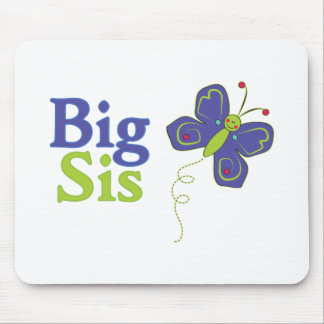 大きいSisのかわいい蝶2 マウスパッド