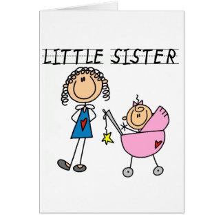 大きいSisのTシャツを持つ妹 カード
