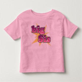 大きいSisのTシャツ トドラーTシャツ