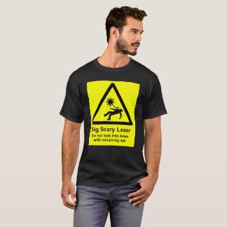 大きく恐いレーザー Tシャツ