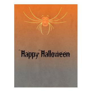大きく恐い虫のハローウィンパーティ ポストカード