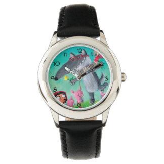 大きく悪いオオカミ 腕時計