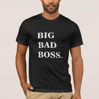 大きく悪いボスのおもしろTシャツ Tシャツ