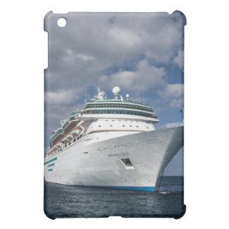 大きく白い遊航船 iPad MINI カバー